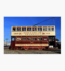 Birkenhead Tram 70 Photographic Print