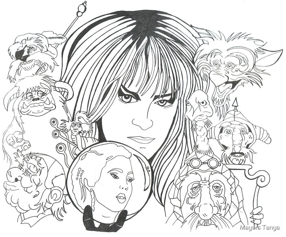 Labyrinth Fan art by Mayers Tanya