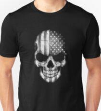 American Flag Skull Unisex T-Shirt