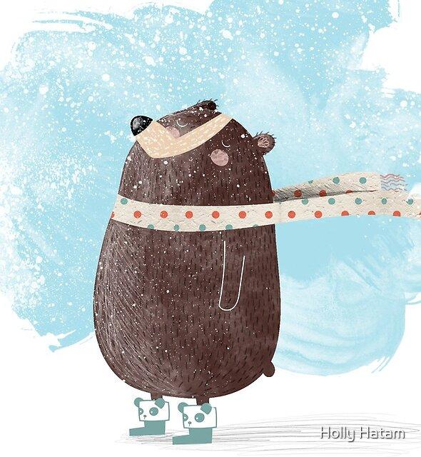 Snowy Day by Holly Hatam