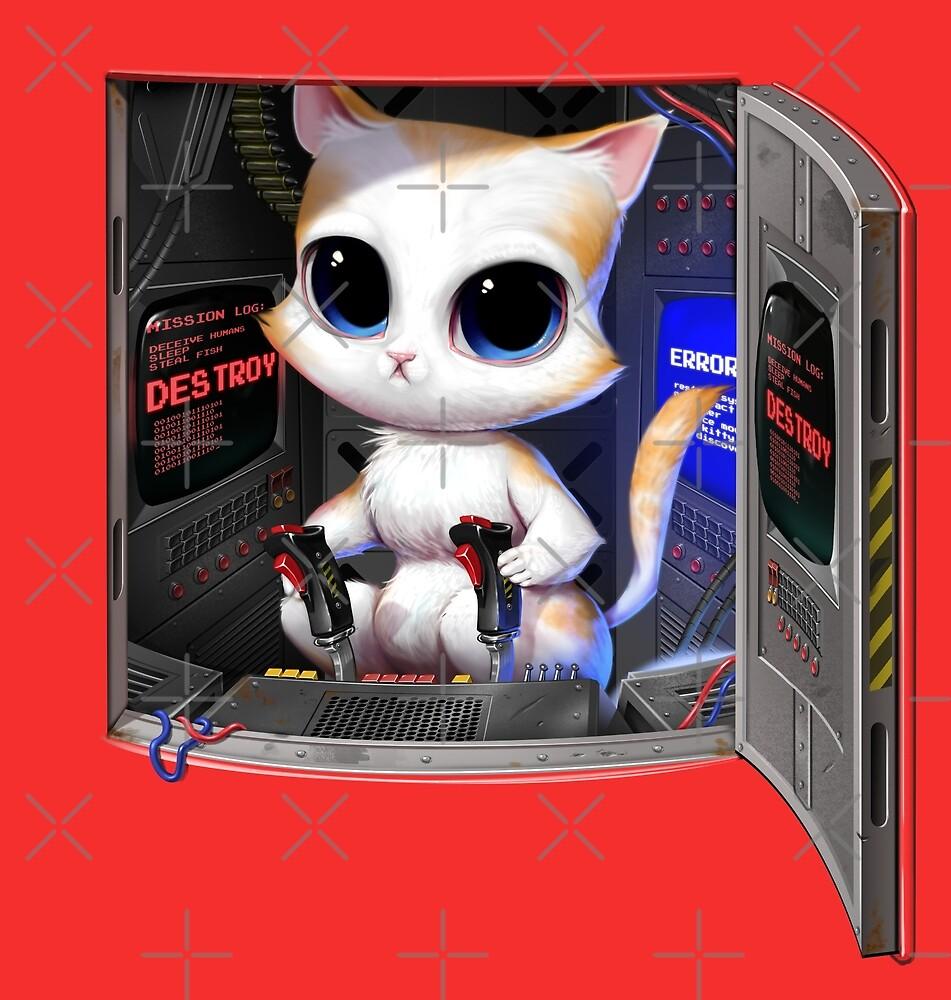 Cat Pilotierter Cyborg von andremuller