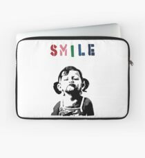 Banksy - SMILE Laptop Sleeve