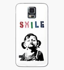 Banksy - SMILE Case/Skin for Samsung Galaxy