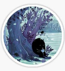 A Quiet Spot of Tea Sticker