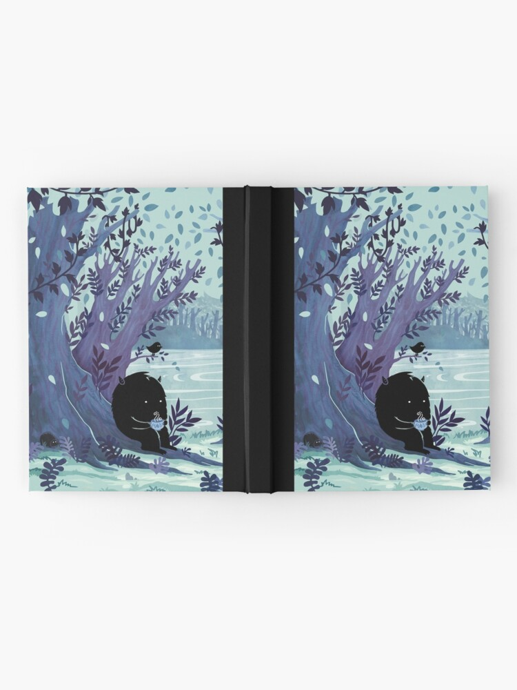 Alternate view of A Quiet Spot of Tea Hardcover Journal