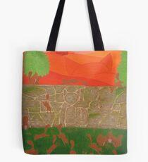 Stone Cat Tote Bag