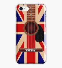 Union Jack Guitar iPhone Case/Skin