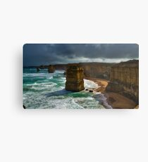 The Twelve Apostles North Metal Print