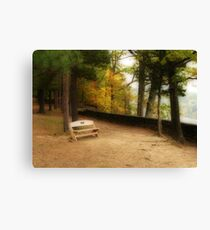 Come Sit A Spell With Me Canvas Print