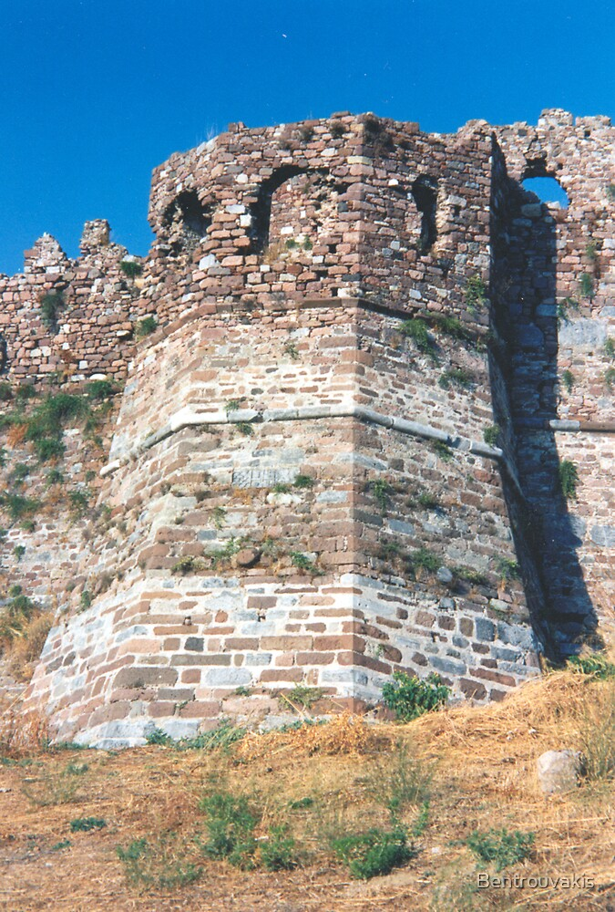 Medieval Castle of Mytilini, Lesbos Island GR (3) by Bentrouvakis