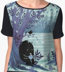 A Quiet Spot of Tea Women's Chiffon Top