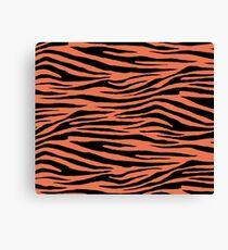 0083 Burnt Sienna Tiger Canvas Print