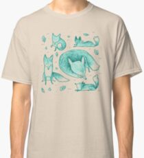 Fox Pattern Classic T-Shirt