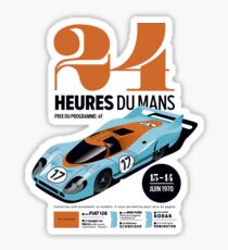 24 hours of Le Mans Sticker