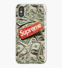 Supreme Cash Money iPhone Case