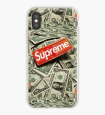 Supreme Cash Money iPhone Case