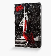 Sin City Tribute Greeting Card
