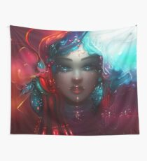 Four seasons Wall Tapestry
