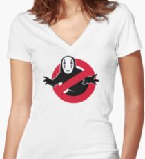 Spiritbusters Women's Fitted V-Neck T-Shirt