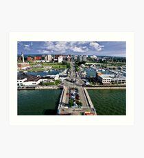 Erie Bayfront Art Print