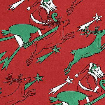 Santa Express by ikerpazstudio