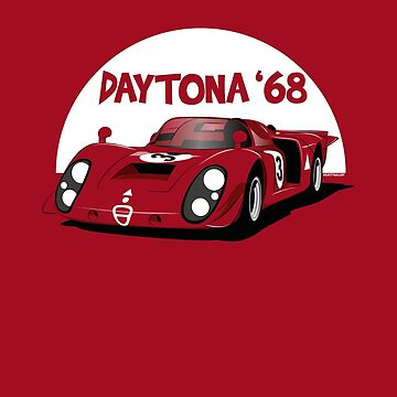 Daytona 1968 Race by velocitygallery