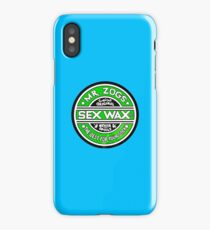 Sex Wax Original Never Spoils Lime Green iPhone Case/Skin