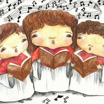 Choir Girls by lynzart
