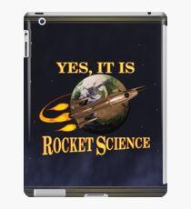 Yes, It Is Rocket Science iPad Case/Skin