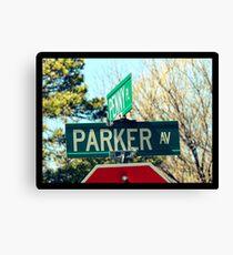 Parker Ave Canvas Print