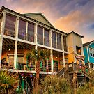 River City Cafe from the Beach by TJ Baccari Photography