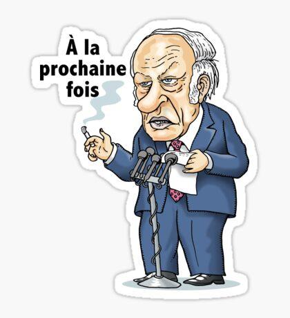 René Lévesque: à la prochaine fois Sticker