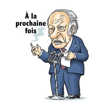 René Lévesque: à la prochaine fois by MacKaycartoons