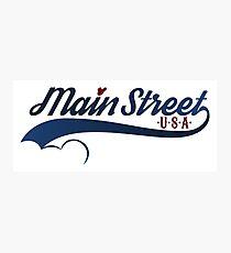 Main Street, U.S.A. Photographic Print