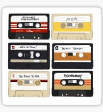 Baby Driver- Cassette Tape Set  Sticker