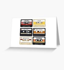 Baby Driver- Cassette Tape Set  Greeting Card