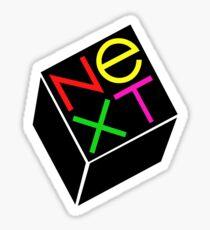 NEXT Computing Steve Jobs Logo Sticker
