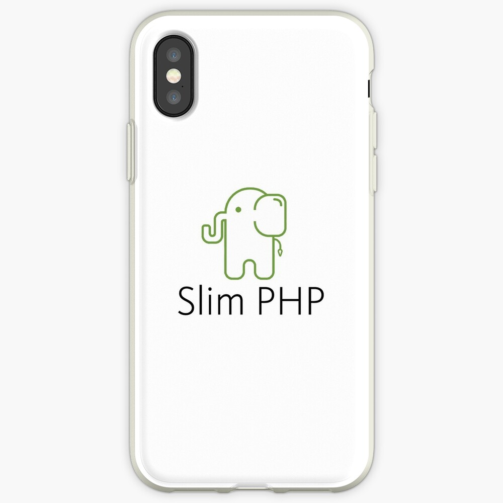 Schlank PHP-Logo iPhone-Hüllen & Cover