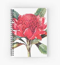 Going Red Spiral Notebook