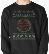 Merry Christmas Sweatshirt Pullover