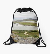 Desolate Drawstring Bag