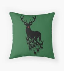Rudolph the red nosed reindeer pattern Floor Pillow