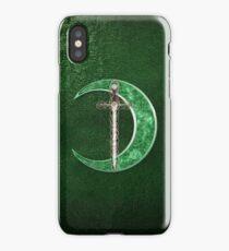 Green Celtic Moon iPhone Case