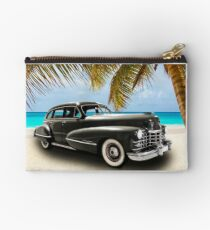 Vintage Cadillac Photo Art Studio Pouch