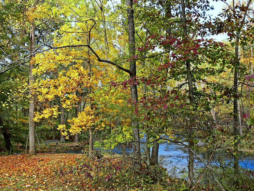 Autumn along the Connecticut River by LjMaxx