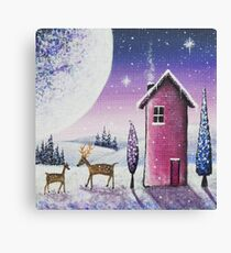 A January Day Canvas Print