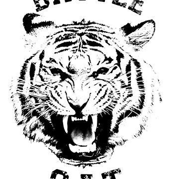 Battle Cat Tiger by clarafornia
