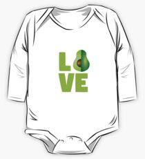 Avocado Love One Piece - Long Sleeve