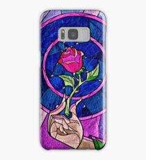rose beauty and the beast Samsung Galaxy Case/Skin