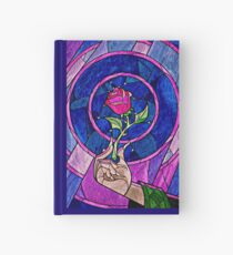 rose beauty and the beast Hardcover Journal